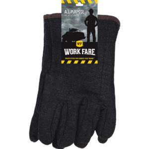 Work Fare Jersey - Red Lined Gloves